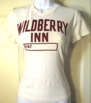 NWT ABERCROMBIE & FITCH large Casual Designer t-shirt