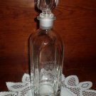 "Kenyon Clear Glass Bottle Decanter, New, 9 3/4"" Tall, New"