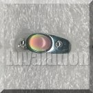 Adjustable Oval Mood Stone Ring Band Retro Chic Color Change Chart Unisex