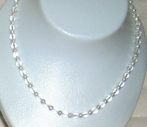 Pearls with Crystals necklace
