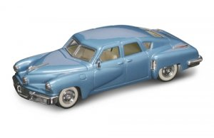 Road Legends 1948 Tucker Torpedo By Yat Ming, 1:43 Scale - Blue