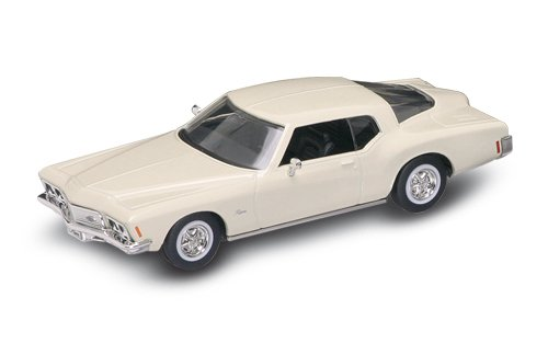 Road Legends 1971 Buick Riviera GS By Yat Ming, 1:43 Scale - Cream