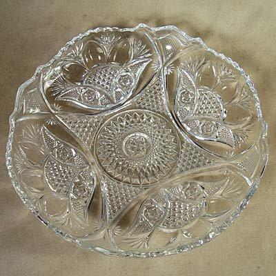 US Glass Glassport Factory Buckingham/Crosby Crystal EAPG Bowl