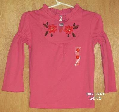 Gymboree Peruvian Dolls Pink Top 3 Years Shirt NEW
