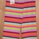 Gymboree Snow Blossom Multi Stripe Pants Size 2T NEW