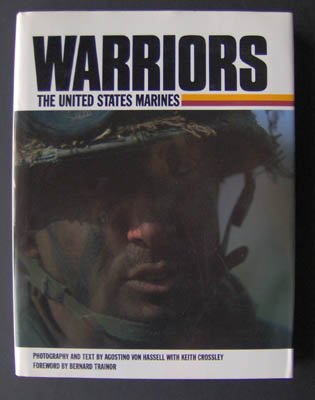Warriors by Keith Crossley (1989) HC Book Marines