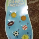 Shoe Dazzler Crocs Clogs 5 Piece Shoe Charms SPORTS