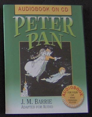 Peter Pan J. M. Barrie AudioBook CD NEW