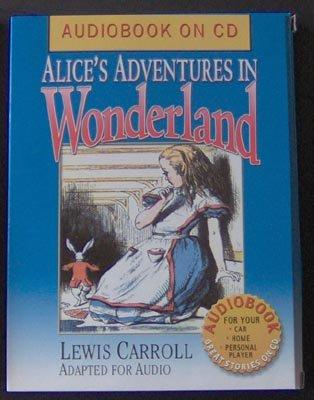 Alice Adventures in Wonderland AudioBook CD NEW