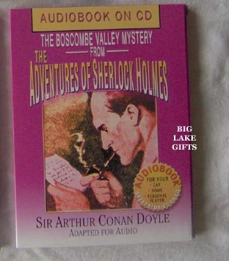 Sherlock Holmes AudioBook CD Boscombe Valley Mystery