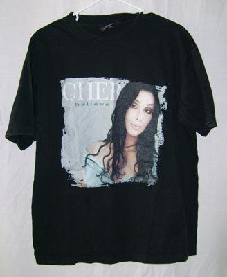 CHER Believe Concert T-Shirt '99 Large L