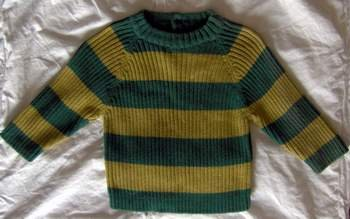 Gymboree Boys Striped Sweater 6 - 12 Months
