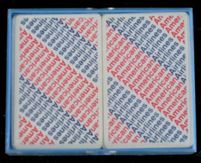 American Airlines Deck of Playing Cards 2 Decks w/ Case