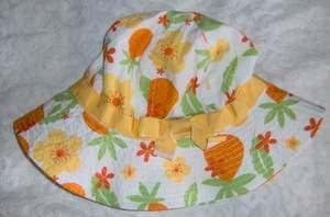 Gymboree Pina Colada Hat 6 - 12 Months