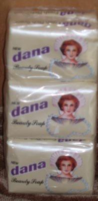 Dana Beauty Soap NOS New 6 Bars Lot