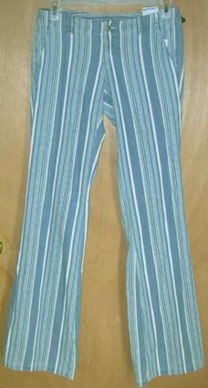 Diesel Blue Striped Pants Jeans Size 28 NEW