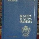 KAPPA KAPPA GAMMA Alumnae Directory Book 1987