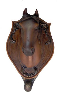 Horse Head Door Knocker Ranch Cowboy Decor