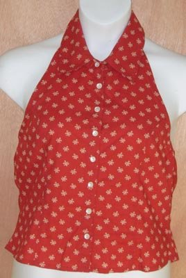 Kit Cornell Summer Halter Top Size Large L Shirt