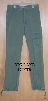 Abercrombie Army Green Cargo Pants Girls Size 16 Jeans Free Shipping