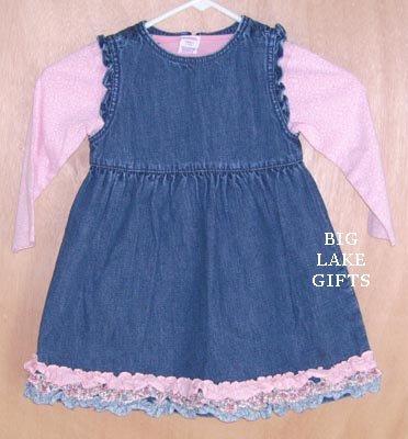Gymboree Snow Angels 3pc Set Dress Shirt & Bottoms Size 3T