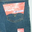 Levi's Girls Flares 517 Levi Denim Jeans Size 12 NEW Stretch