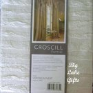 Croscill Ascot Valance Veronica Pleat Ivory NEW