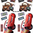 Disney CARS Wall Stickers WALLIES McQueen & Mater NEW