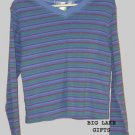 Fresh Produce Sunburst Striped Top Girls Size S 7/8 NEW