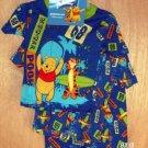Winnie The Pooh 3 pc Pajamas PJ's Boys Size 3T NEW