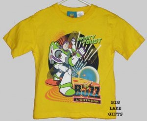 Toy Story BUZZ LIGHTYEAR Boy's Shirt 4 4T Top NEW