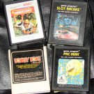 ATARI Lot of 4 Original Games Pac-Man Donkey Kong