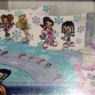 BRATZ Pillowcase Standard Pillow Case NEW Wildflowers