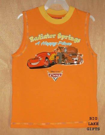Disney CARS Lightening McQueen Mater Shirt 5 5T NEW Top