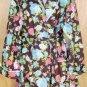 Joe Boxer Warm Burgundy Floral Robe Medium M NEW