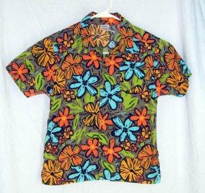 Gymboree EVERGLADES Boy's Tropical Camp Shirt Size 7