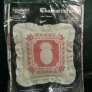 Charmin CHAINSTITCHING Pineapple Pillow Needlepoint Kit