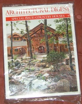 Architectural Digest Special Issue Country Houses June 2007 6/07