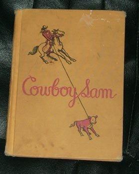 COWBOY SAM Vintage HC Book 1960