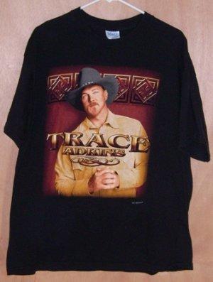 Trace Adkins 2002 Concert Tour T-Shirt Size XL Shirt