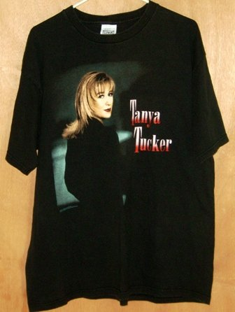 Tanya Tucker World Tour Concert T-Shirt 1995 Shirt Size XL