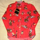 Rustler Pearl Snap Western Shirt Rodeo Size L Large 10/12 NEW