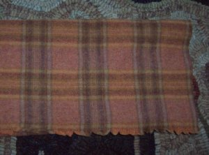 OLD SQUASH PLAID - Rug Hooking Wool, quilting