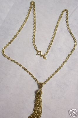 Awesome Sarah Covington Chain with Tassel Pendant