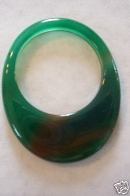 Awesome Large Agate Bead Donut Gemstone MUST SEE