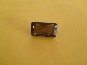 Large Smokey Quartz Rectangle Shaped
