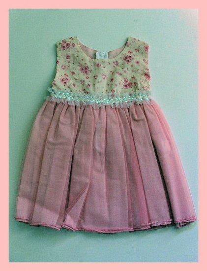 New Kid Rascal Pink dress toddler girls 3T  Wedding Spring Summer