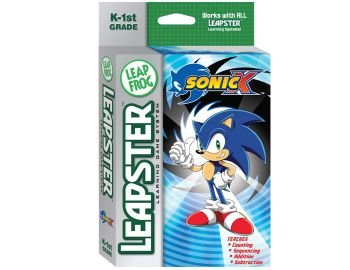 New Leapster Sonic The Hedgehog Cartridge educational game K-1st Grade