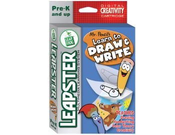 New Leapster Learn to Draw and Write cartridge Pre-K and up