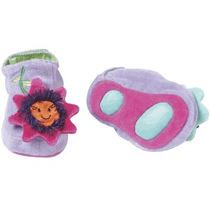 New Manhattan Baby Toe Tappers Flowerettes baby 0-6 months cute